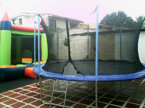 alquiler de castillos inflables ,trampolin y mas...