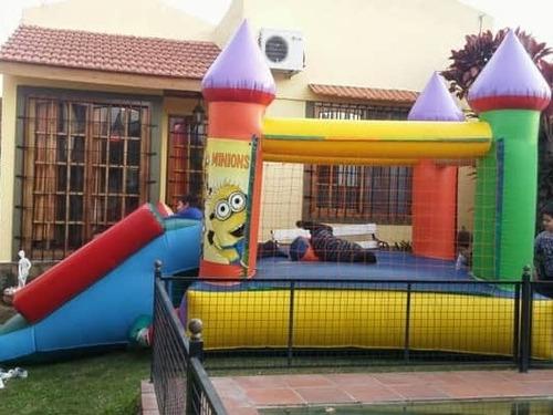 alquiler de castillos inflables y más!!san fernando