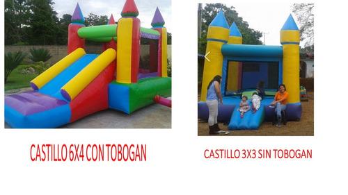 alquiler de castillos inflables y mucho mas...*