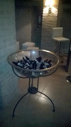 alquiler de champagnera (copon cervecitas), cafetera, laton