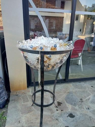 alquiler de champagñera puf  sillones cubos de led gazebos