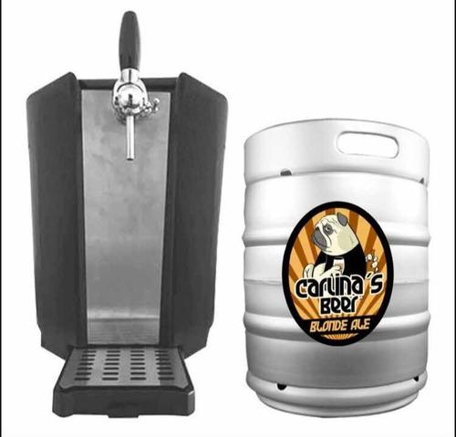 alquiler de chopera +20 litros de carlinas beer blonde ale