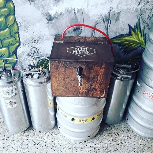 alquiler de chopera + barril de 20, 30 o 50 litros