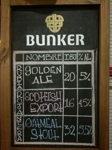 alquiler de chopera bunker cerveza artesanal