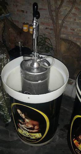 alquiler de chopera cerveza artesanal $180 x litro!!