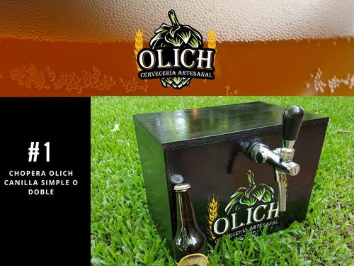 alquiler de chopera cerveza artesanal cervecería olich