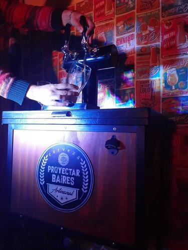 alquiler de chopera cerveza artesanal tirada recarga growler