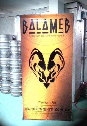alquiler de chopera - cerveza balameb premium ale-artesanal