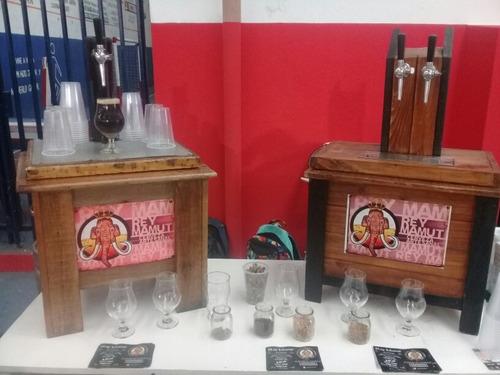 alquiler de chopera con 20 litros cerveza artesanal
