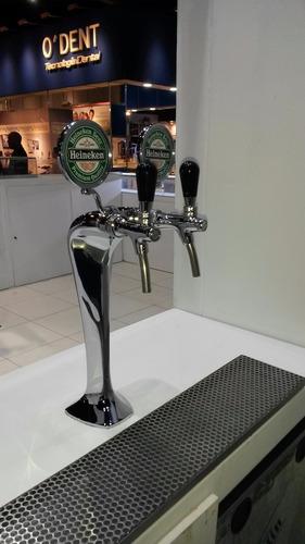 alquiler de chopera de cerveza heineken - isenbeck