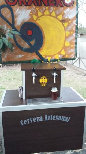 alquiler de choperas, cerveza artesanal, pilones en comodato
