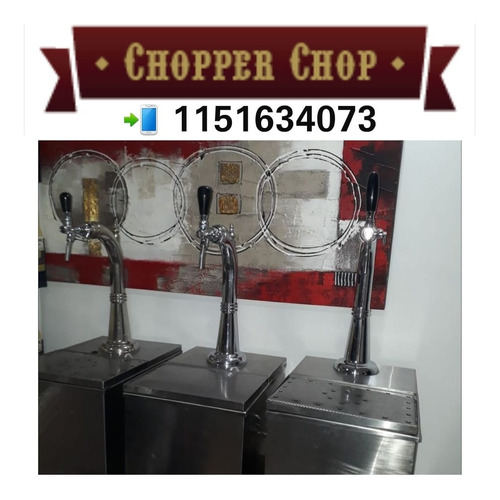 alquiler de choperas de cerveza