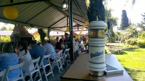 alquiler de choperas de cerveza.con personal y vasos