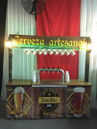 alquiler de choperas, instalación en comodato a bares