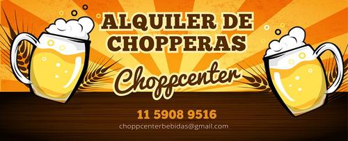 alquiler de chopperas  cerveza artesanal - industrial oferta
