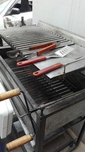 alquiler de cilindros cajas chinas rejillas carne al palo
