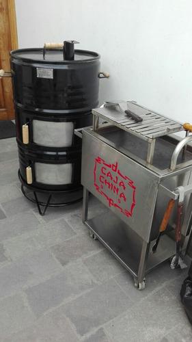 alquiler de cilindros.caja china y parrillas