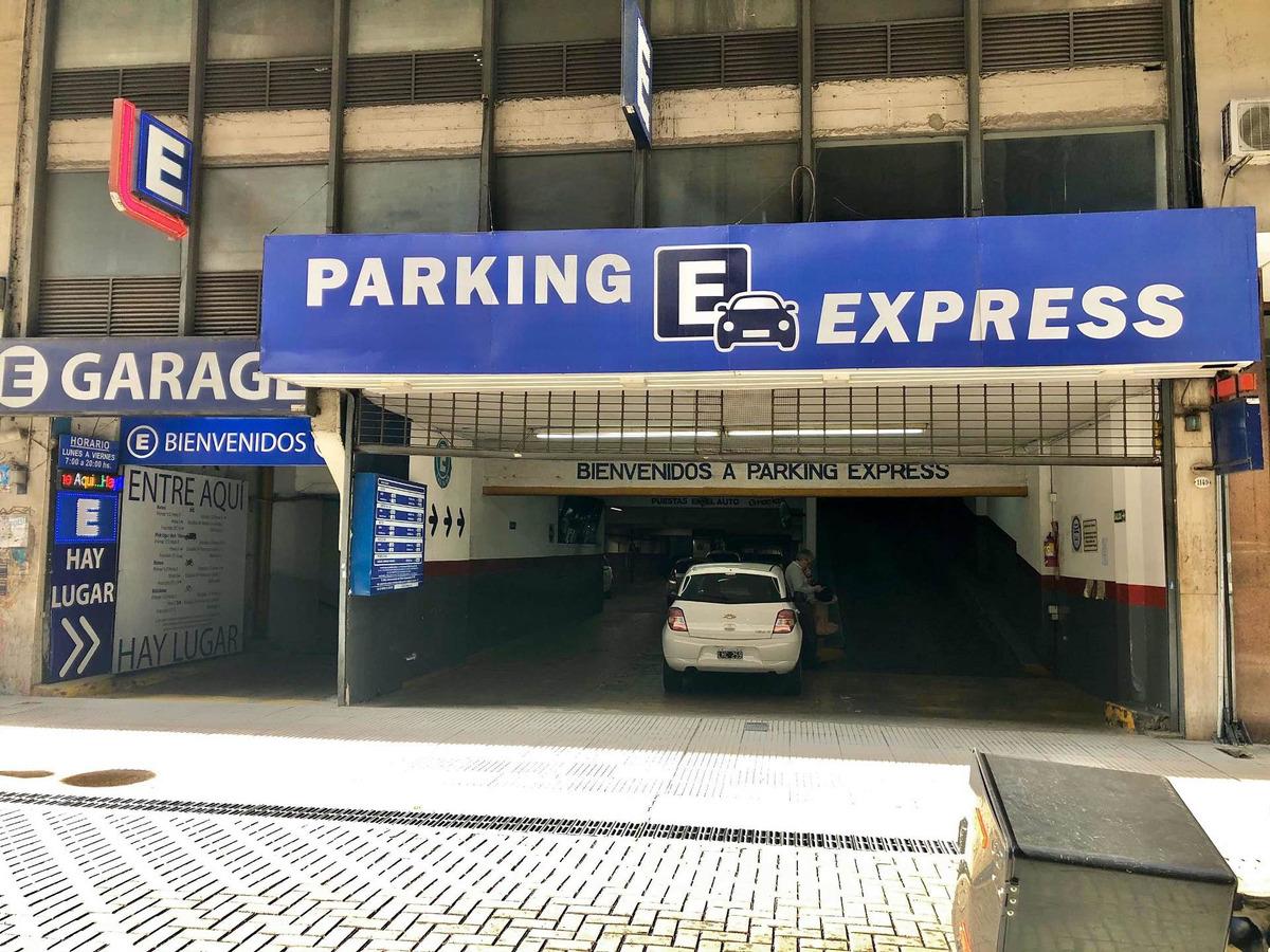 alquiler de cochera por mes - estacionamiento lavalle 1149