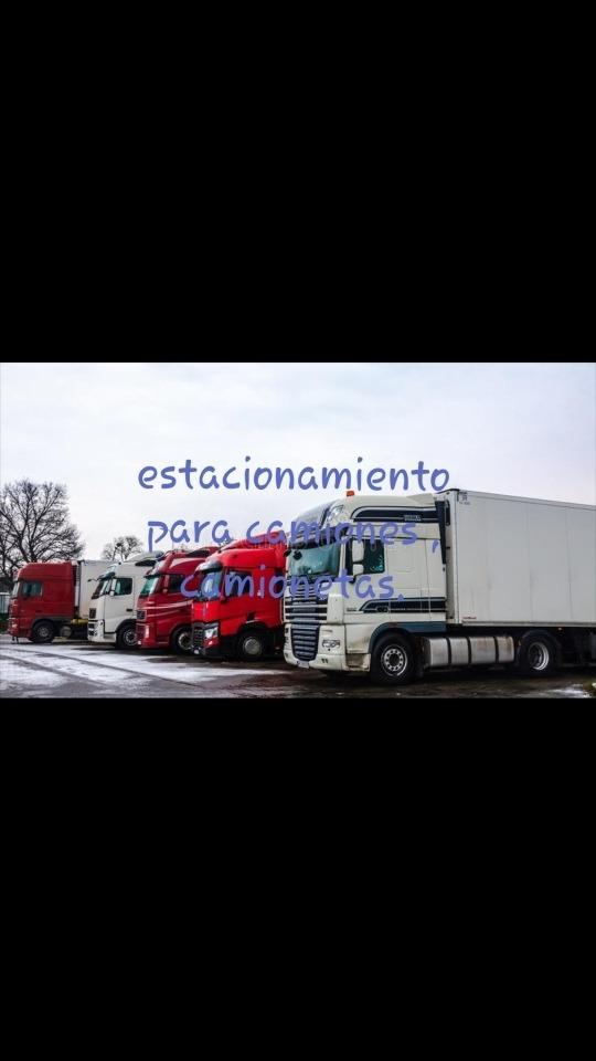 alquiler de  cocheras para camiones