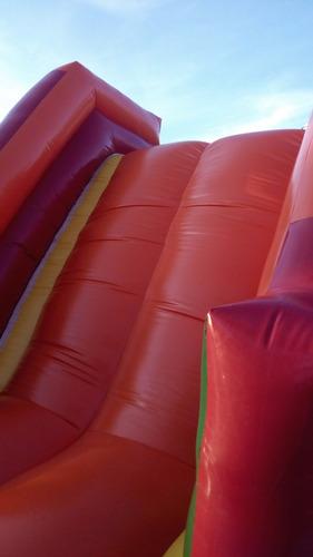 alquiler de colchón inflable brinca brinca con pelotas