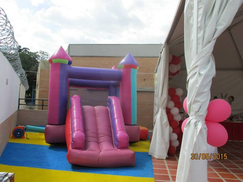 alquiler de colchón inflable, cama elástica, animación y más