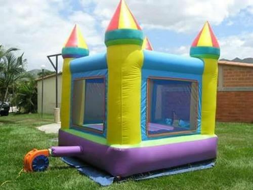 alquiler de colchón o castillo inflable