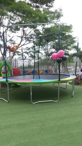 alquiler de colchones inflables camas elasticas silas mesas