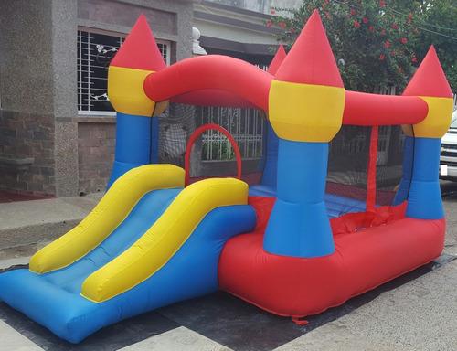 alquiler de colchones o castillos inflables sillas, mesas