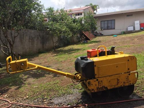 alquiler de compactadoras tres toneladas y tonelada y media