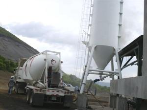 alquiler de compresor de aire para cemento y otros