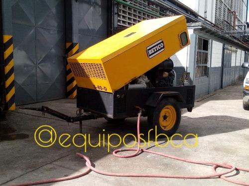 alquiler de compresor para demolicion, descarga. equipos fb