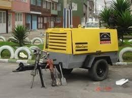 alquiler de compresores para obras civiles 185 y 250 cfm