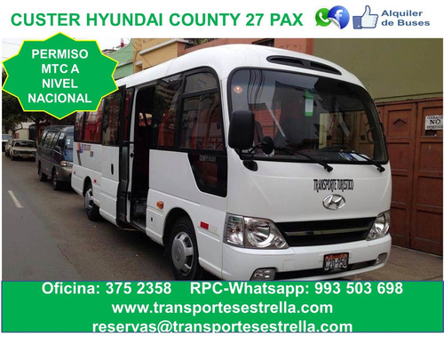 alquiler de custer bus omnibus sprinter y vans