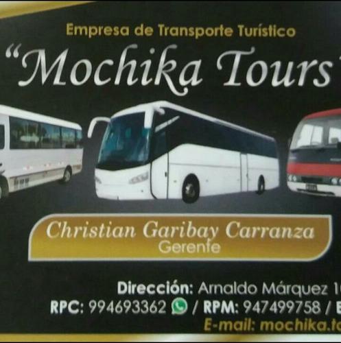 alquiler de custer y bus para transporte turistico y persnal