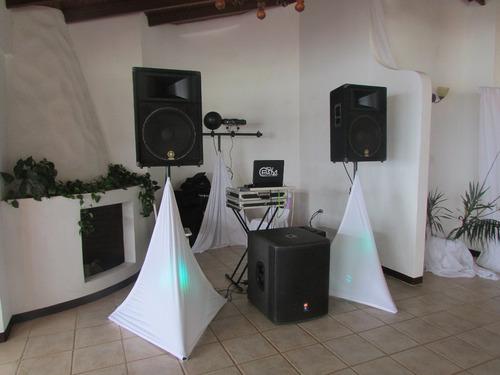 alquiler de discplay - dj - altos mirandinos y caracas