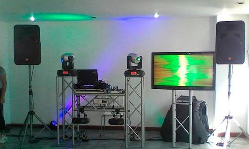 alquiler de discplay en caracas, karaoke, dj, sonido, luces.