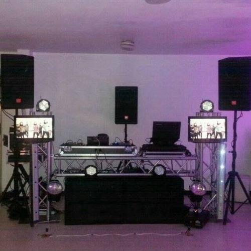 alquiler de discplay, miniteca, karaoke, dj's, sonido, truss