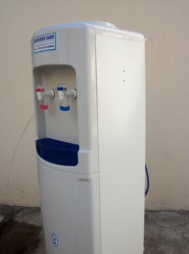 alquiler de dispenser de agua frio/calor red y bidon $400