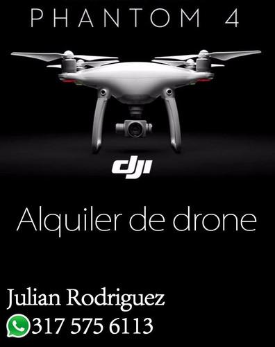 alquiler de drone phantom 4,  aton films