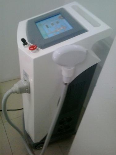 alquiler de equipo de depilación definitiva láser