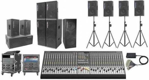 alquiler de equipo de sonido profesional
