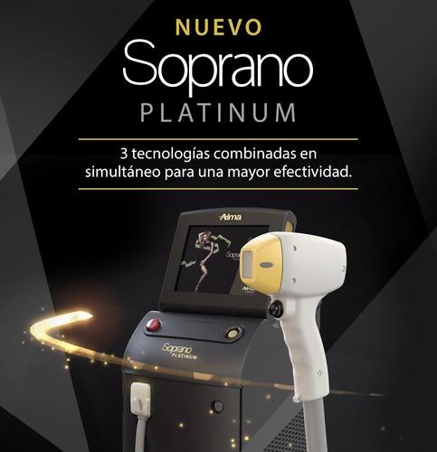 alquiler de equipo laser soprano original   (no chino)