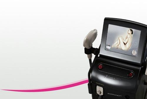 alquiler de equipo laser soprano xl3g