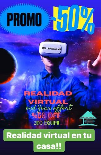 alquiler de equipos de realidad virtual para eventos!!!.
