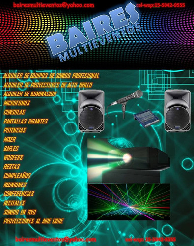 alquiler de equipos de sonido-iluminacion