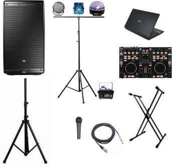 alquiler de equipos de sonido y proyección