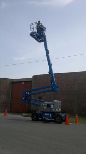 alquiler de equipos elevadores manlift  y tijeras