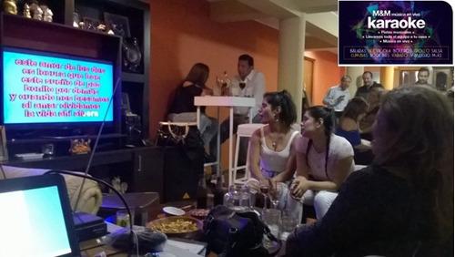 alquiler de equipos para karaoke y fiestas