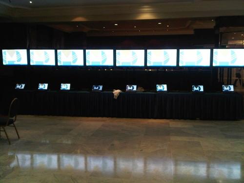 alquiler de equipos visules, pantallas de leds, plasmas, etc
