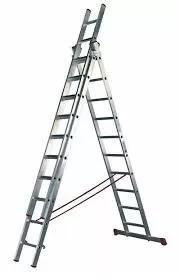 alquiler de escalera coliza de 7m combinada y coliza de 12m